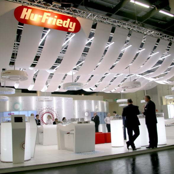 Stand design for Hu-Friedy - Plant the Brand, Directors of